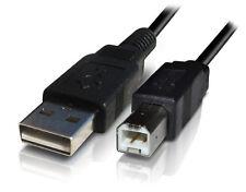FILO CORDA CAVO USB PER CANON PIXMA STAMPANTE A INCHIOSTRO connettersi al COMPUTER PC MAC