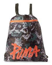 item 6 PUMA Sackpack Backpack CARRYSACK CAMO GREEN Drawstring GYM Light ONE  SIZE NEW -PUMA Sackpack Backpack CARRYSACK CAMO GREEN Drawstring GYM Light  ONE ... ad3a2e4eb2c32
