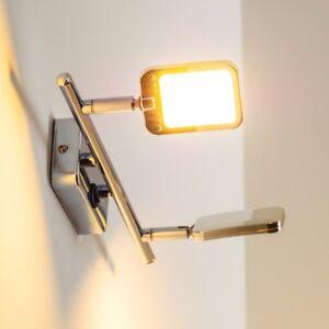 Lampada LED Parete Interruttore Luce Muro Applique Spot Soggiorno ...