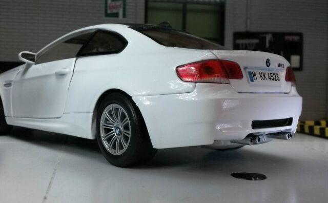 Richmond Toys 124 BMW M3 Coupe Die cast Collectors Model Car Alpine White