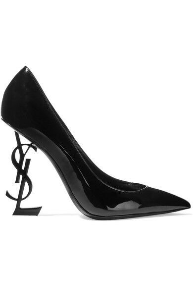 Pumps & High Heels for Women On Sale, Black, Patent Leather, 2017, 4 4.5 5.5 6 7 7.5 Saint Laurent