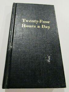 1975 Twenty-Four Hours a Day Hardcover Book. Alcoholics ...