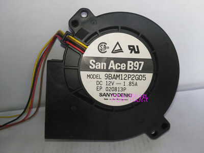 for Sanyo 9BMB12P2J619 9733 12V 3.8A Blower Cooling Fan