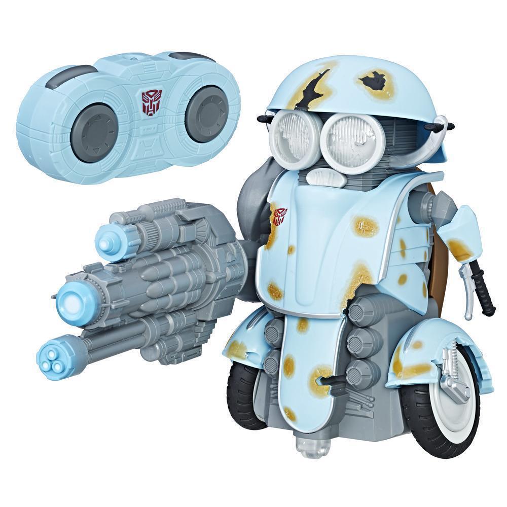 Transformers  der letzte ritter autobot - sqweeks rc kontrolle entfernten tanzen, blaster