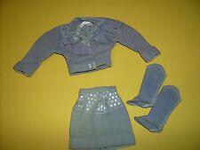 #4893 1980's Toys R Us doll clothes Skipper skirt - jacket Barbie Fashions