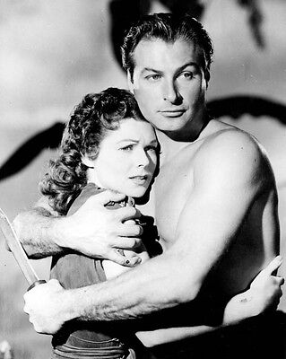 Self-Conscious Lex Barker Tarzan And The Slave Girl 1038972 8x10 Photo Or Poster For Improving Blood Circulation