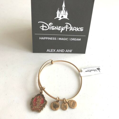 Alex /& Ani Haunted Mansion Halloween Bracelet Mickey Mouse Minnie Gold Silver