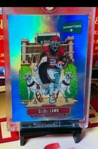 2020-Panini-ChroniclesDraft-Picks-CeeDee-Lamb-Rookie-RC-Downtown-Case-Hit-SSP-OU