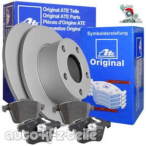 ATE-Bremsenset-2-Bremsscheiben-4-Bremsbelaege-VW-Golf-V-1K1-253mm-HINTEN-VOLL