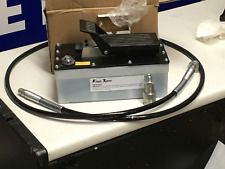 Air Hydraulic Foot Pump With 10000 Psi Foot Pedal High Pressure Commercial Grade