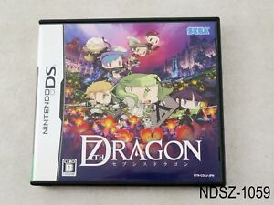 7th-Dragon-Nintendo-DS-Japanese-Import-NDS-JP-Japan-Seventh-Sega-US-Seller-A