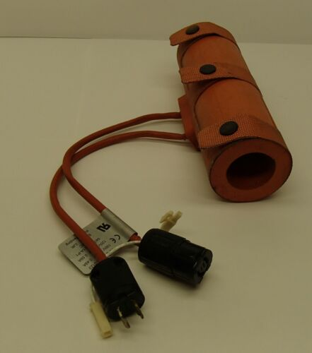 """Vacuum Piping Heater MKS-HPS 4515-0123 Silicone Blanket Heater for 1.500/"""" OD."""