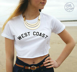 MILEY-CYRUS-WEST-COAST-We-Cant-Stop-CROP-TANK-TOP-T-shirt-CROPPED-Fashion