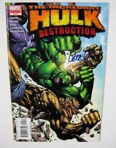 Incredible-Hulk-Destruction-4-Signed-by-Peter-David-NM-MARVEL-COMICS-2005