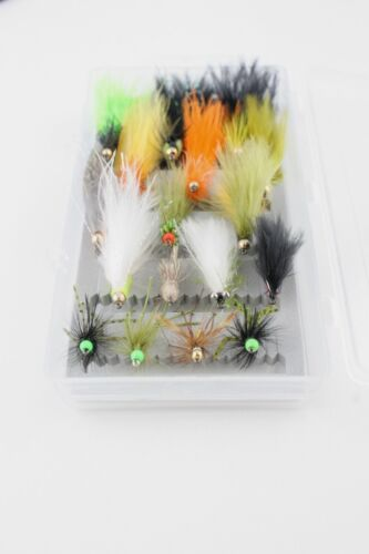 X4 /& X17 BARBLESS STILLWATER LURES Assorted Selections Trout Fishing Flies