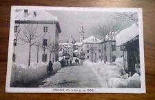 Cartolina Vicenza Asiago d'inverno  viaggiata 1917   13/11/16