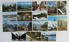 SCHWEIZ Postkarten Sammlung 16 AK ua. Engelberg, Grindelwald, Thun, Iseltwald