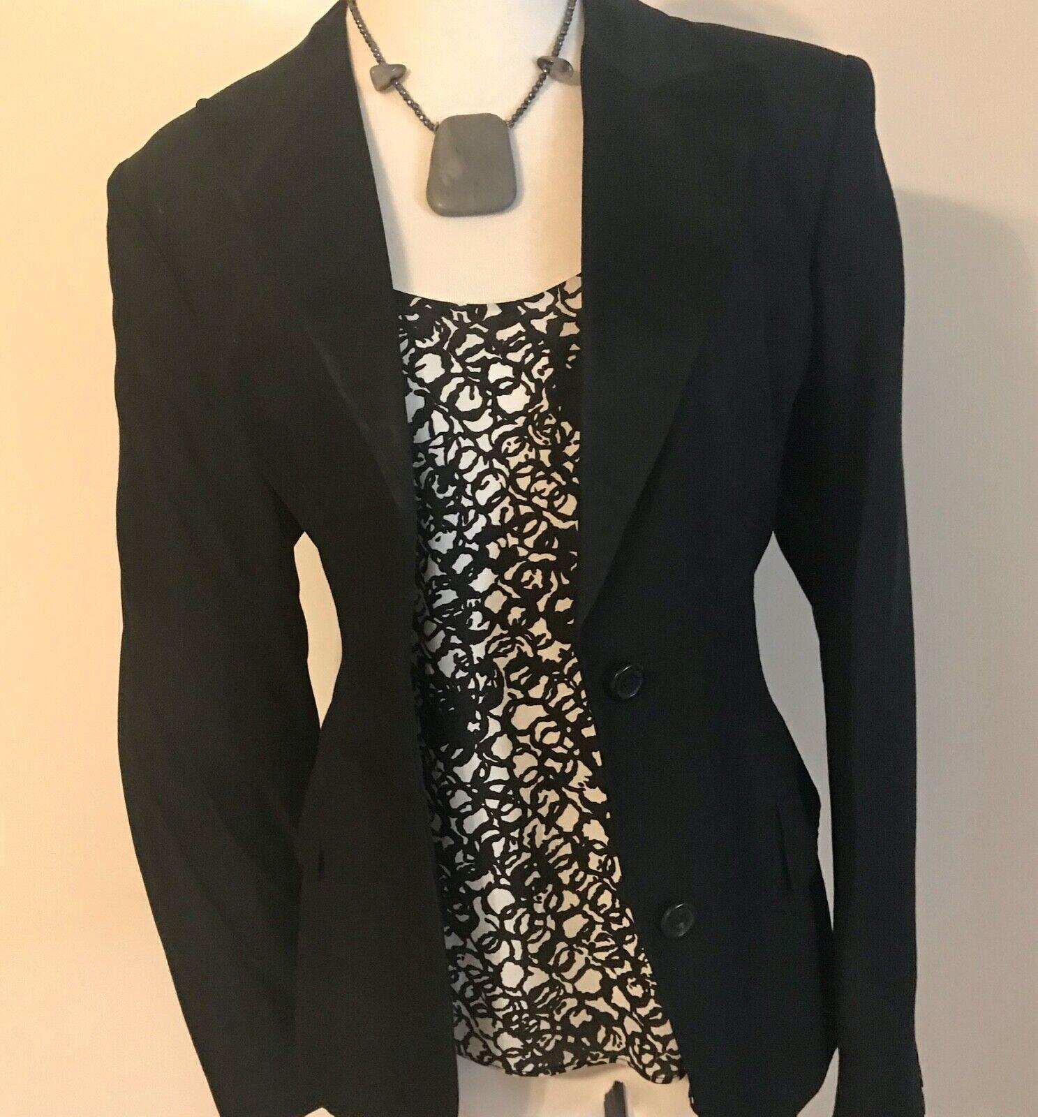 Balenciaga Black and White Silk Multi Strap Camis… - image 3