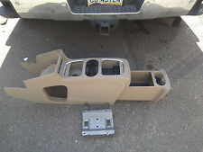 2011 - 2016  Dodge Caravan Center Super Deluxe Console Drink Tray Brown