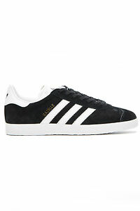 New-ADIDAS-Womens-Gazelle-Black-White