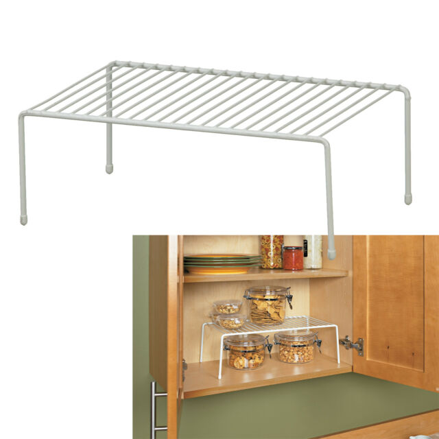 Large Shelf Kitchen Cabinet Countertop Space Saver Canned ...