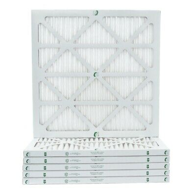 Actual Size 13-1//2 x 23-1//2 x 7//8 14x24x1 MERV 10 AC /& Furnace Air Filters Case of 12
