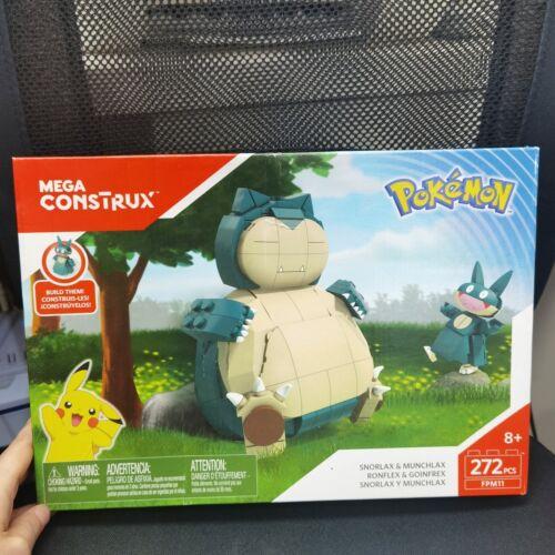 Mega Construx Pokémon Snorlax and Munchlax New *Sealed* FPM11