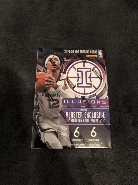 2019-20 Illusions NBA Basketball 8 PACKS SEALED BLASTER BOX NEW!