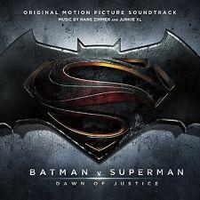 BATMAN VS SUPERMAN : Original Soundtrack (CD) Sealed  (rel: 18th Mar 2016)