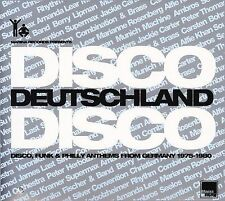 VARIOUS ARTISTS - DISCO DEUTSCHLAND DISCO: DISCO, FUNK & PHILLY ANTHEMS (NEW CD)