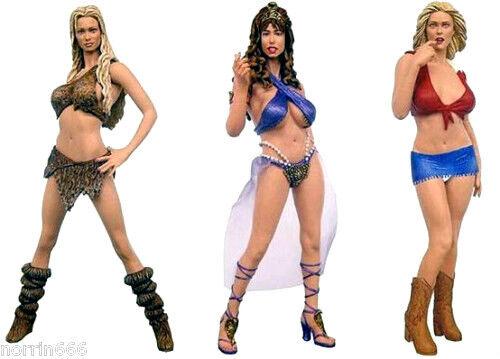 Adult Superstars Vivid Filles - 3 PVC Figurines 16cm By Plastic Fantasy   Sota