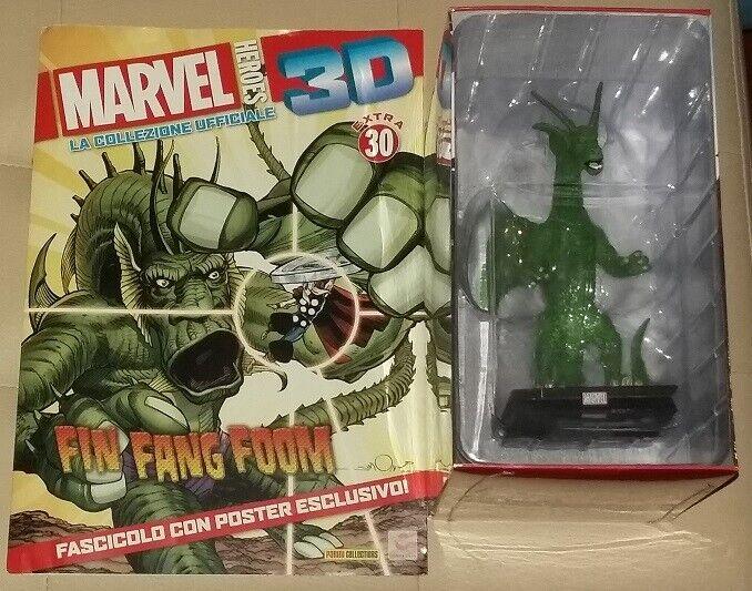 Fin Fang Foom Marvel Heroes 3D extra 30  eaglemoss centauria specialee Iron-uomo  sport dello shopping online