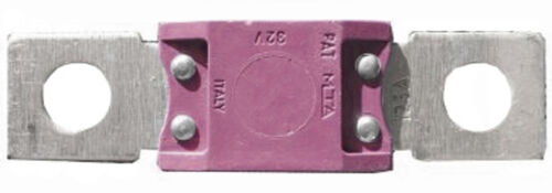2 X  250AMP MEGA FUSE 250A BLADE  LINK FUSES AUTO 68MM LONG PINK  FU19//250