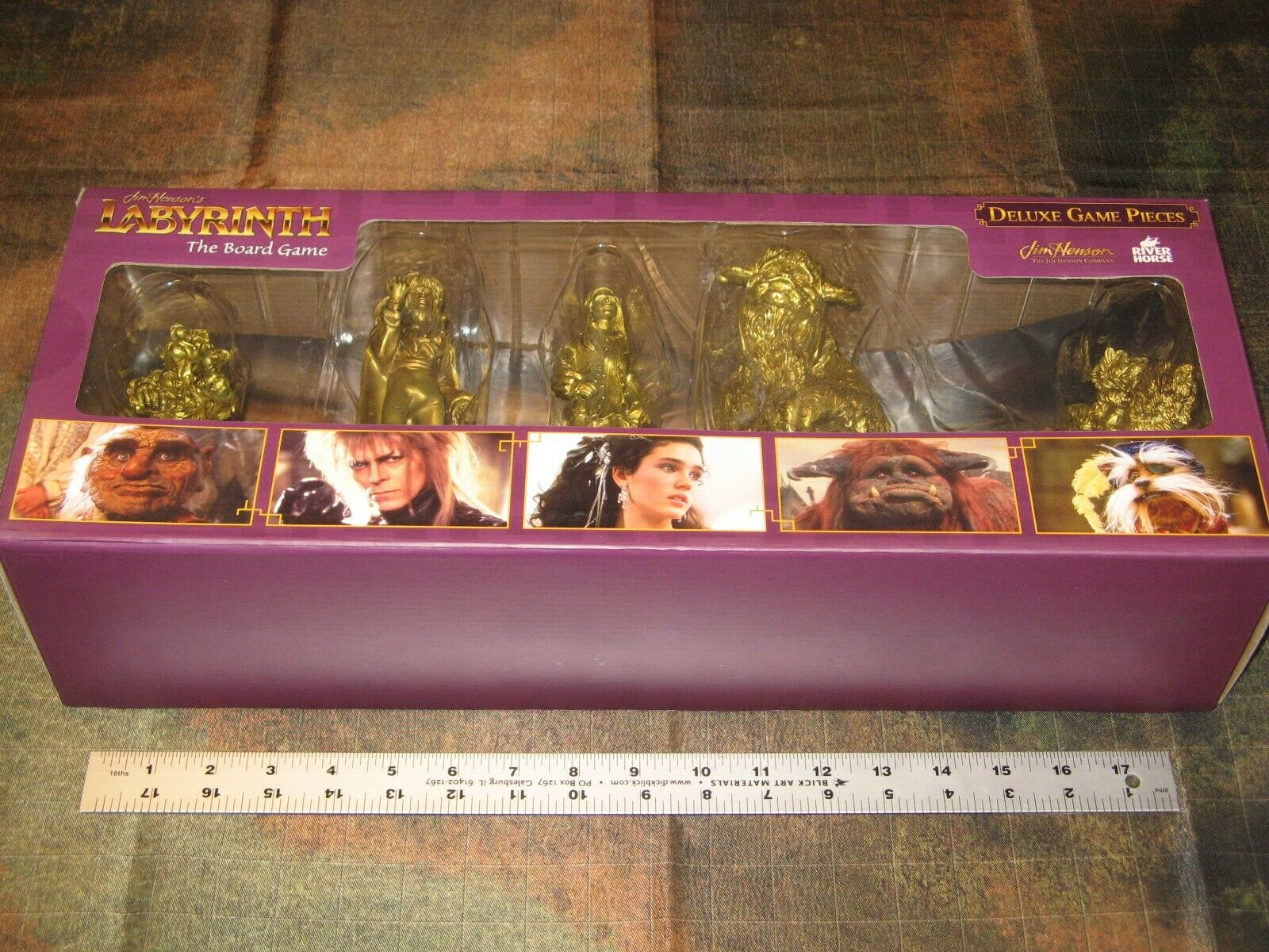 Deluxe [HUGE] gioco Pieces Jim Henson's Labyrinth Labyrinth Labyrinth tavola gioco nuovo 5 miniatures D&D 3aab1f
