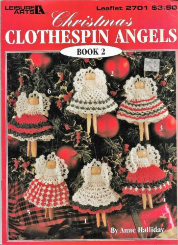 Crochet Patterns CHRISTMAS ORNAMENTS ANGELS SNOWFLAKES **You Choose