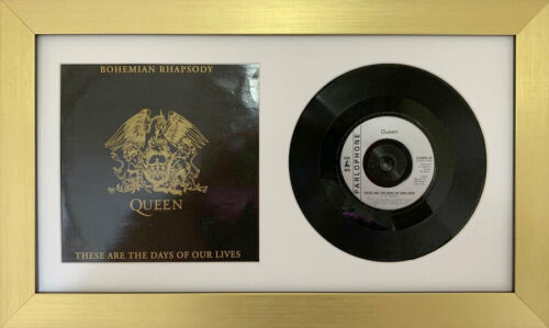 """Picture Frames Single 10/"""" inches Vinyl LP Record with Album CoverWhite Mount"""