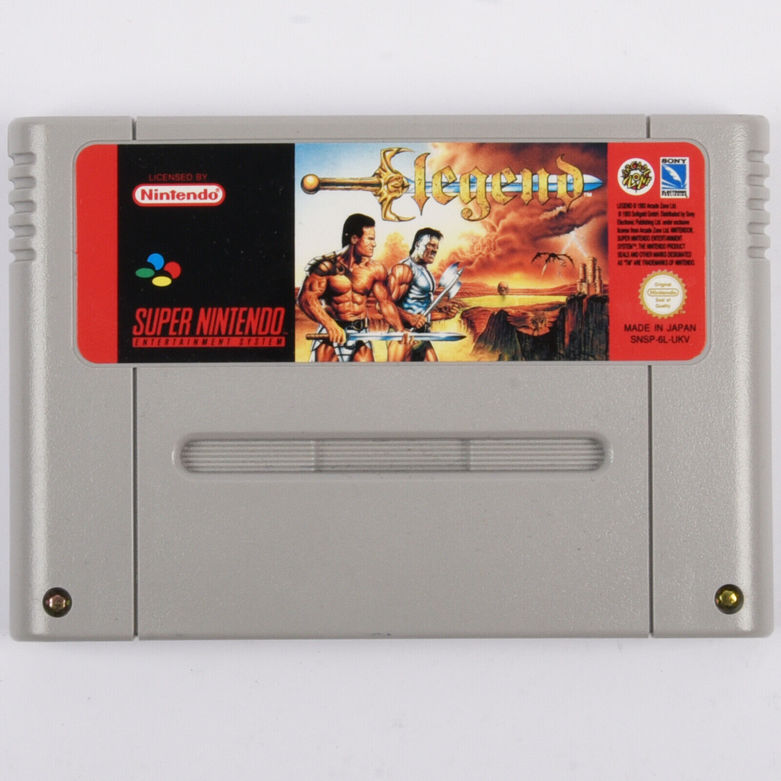 Snes - Legend Spiel Für Super Nintendo