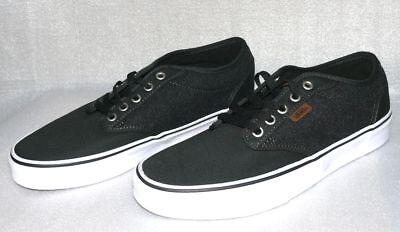 Vans Atwood Canvas Herren Schuhe Freizeit Skater Boots Gr 42 US 9 Black LC017 | eBay