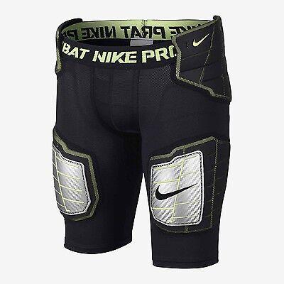 NEW NIKE PRO HYPERSTRONG HARDPLATE PADDED FITTED BOYS FOOTBALL SHORTS SZ XL | eBay