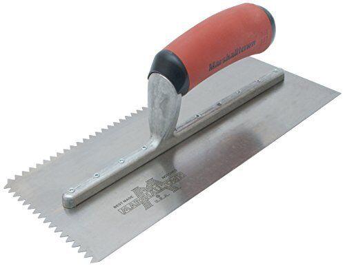 Marshalltown NT682 Trowl-3//16 x 1//4 x 5//16 Flat-Inch V-Soft Grip Handle