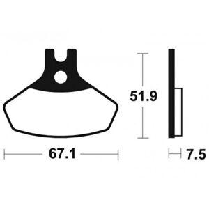 Plaquettes-de-frein-metal-fritte-Bendix-MO407