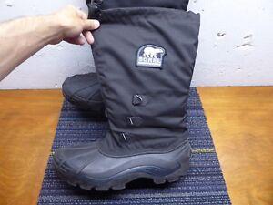 Heren Winter Rubber Geïsoleerde Zwart Waterproof 13 Warm Maat Laarzen Pac Sorel W2DI9HE