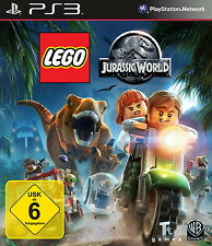 SONY PS3 LEGO Jurassic World Park PlayStation Kinder Spiel zum Film Dinosaurier