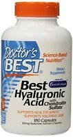 Doctor`s Best - Best Hyaluronic Acid With Chondroitin Sulfate, 180 Capsules , Ne on sale