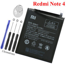 for Xiaomi Redmi Note 4 Replacement Battery BN41 Free Adhesive Tool