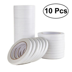 10Pcs-Glue-Tape-Adhesive-Tape-Double-Sided-for-Crafts-Wrapping-Scrapbooking