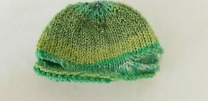 New-Knitted-Hat-With-Ear-Holes-For-Approx-7-7-8-9-13-16in-Bear