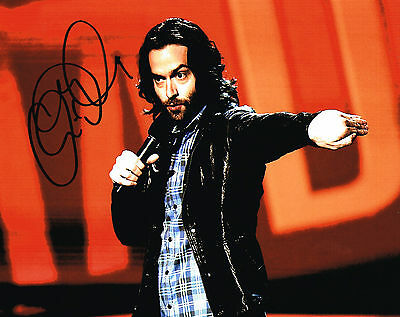Analytical Chris D'elia Signed 8x10 Photo Whitney Coa Entertainment Memorabilia Television