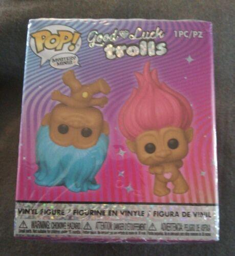 Figura casuale 1 Funko Pop Mystery Minis BUONA FORTUNA Troll SIGILLATO
