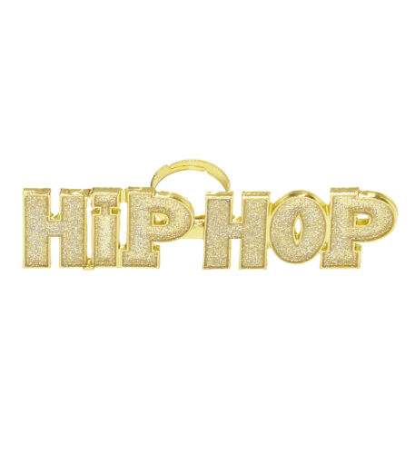 HIP HOP RING for 90s Rap Rapper Chav Accessory